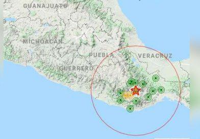 Sismo sacude Oaxaca; fue de magnitud 4.8