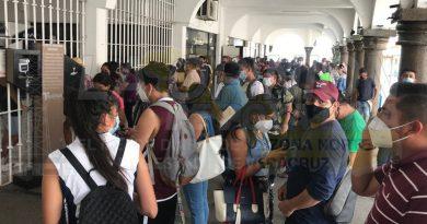Rompen protocolos sanitarios en el ayuntamiento de Tuxpan