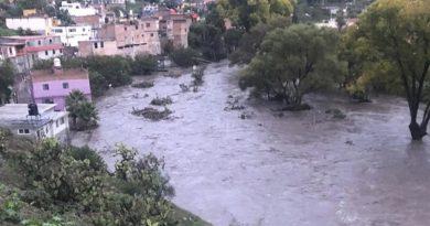 Se desborda presa en Zacatecas