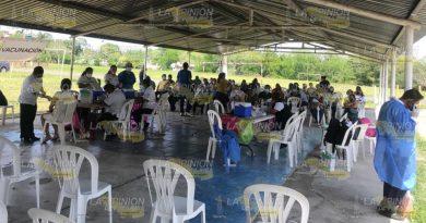 Última llamada para vacunarse en Tuxpan