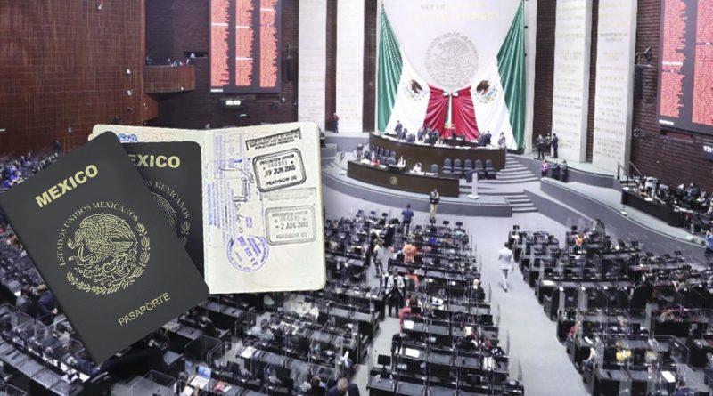 Diputados aprueban elevar costo del pasaporte para 2022