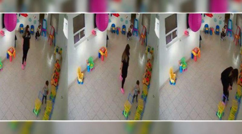 Exhiben maltrato a niños de guardería de Monclova