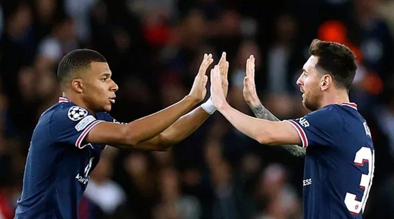 Lionel Messi marca su primer doblete