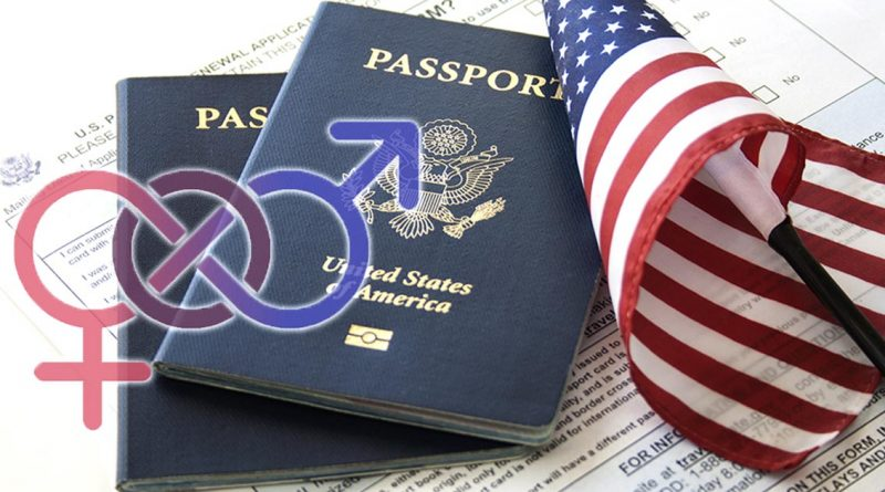 EUA emite primer pasaporte con género X