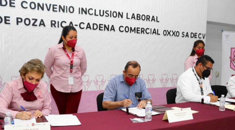 Promueven inclusión laboral