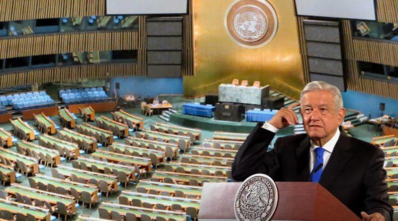 AMLO conducirá sesión del Consejo de la ONU