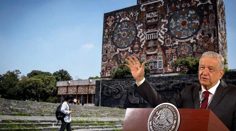 """UNAM se """"derechizó"""": AMLO"""