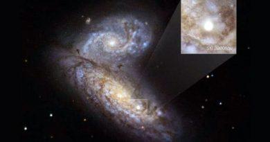 NASA capta asombroso momento en que una estrella explota 'cercana a nosotros'