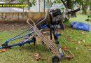 Aeronave se desploma en Úrsulo Galván